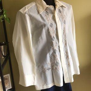 Other - Vintage Filipino baring shirt